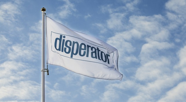 Disperator flagga